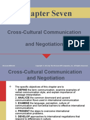 sChapter 7-Cross-Cultural Communication and Negotiation ppt