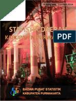 Statistik Daerah Kabupaten Purwakarta 2015