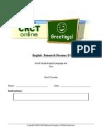 English Research Process Q.5