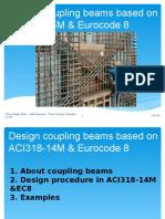 Design Coupling Beams Based OnACI and EC