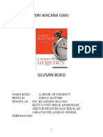 Ulasan Buku Sense of Urgency
