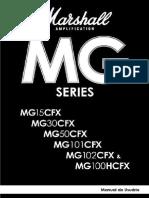 Marshall MG15 100CFX Manual Do Usuário