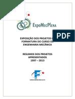 FEI Projetos1997 2013