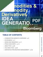 BBG Commodity Derivatives