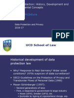 TJM2. Data Protection History, Development and Fundamental Concepts