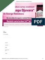 Neagu Djuvara_ Martor Ocular Al Unui Veac de Istorie _ Historia