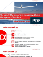 The Use of UAV Systems in Emergency & Crisis Management Situations