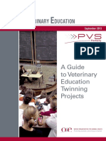 Veterinary Education Twinning Guide
