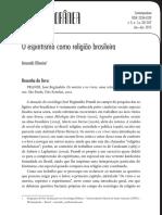O Espiritismo Como Religião Brasileira_2015