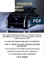 Future Trends in Automobile Engineering