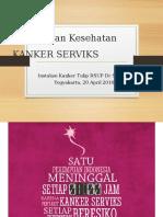 PPT Penyuluhan Kanker Serviks PSIK FK UGM Fix