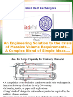 Large Shell Heat Exchangers