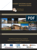2016 Masonry Systems Guide Northwest Edition