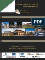 2016 Masonry Systems Guide Northwest Edition