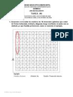 Tarea 6 Configuracion Electronica y Tabla Periodica