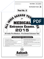 AAKASH TEST SERIES Aiats 2