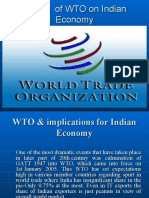 3.WTO & Implications for Indian Economy Ppt