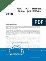 ZXWR RNC R3 Remote Upgrade Guide (V3.12 or V3.13 to V3.14)_R1.0