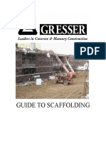 Guide to Scaffolding
