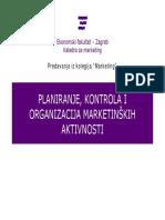 MKT-11-Planiranje Kontrola i Organizacija