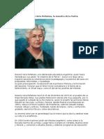 Informacion Recopilada Sobre Rosario Peñaloza