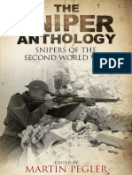 The Sniper Anthology, Snipers of the Second World War - Martin Pegler (Ed)