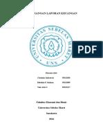 Kecurangan Laporan Keuangan Forensik