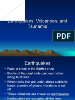 Earthquakes Volcanoes and Tsunamis