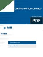 16 10 31 Cenário Macroeconômico