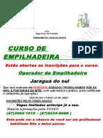 Folder de Empilhadeira Para Ruas