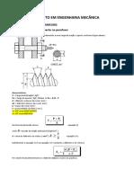 1 Dimensionamento de Parafusos