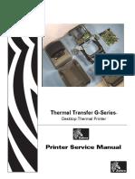 Zebra G-Series Thermal Printer GK420d GK420t GX420d GX420t GX430t Service Manual.pdf