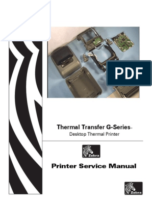 Zebra G-Series Thermal Printer GK420d GK420t GX420d GX420t