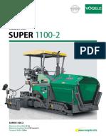 Pb Super 1100-2 Vogele