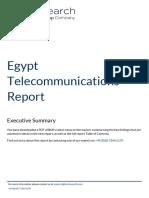 ExecutiveSummary Egypt Telecommunications Report 533722
