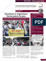 Boletín de octubre- Funuvida, Proyecto Qantu 2016