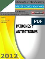 IGF1 12 E-Patrones y Antipatrones
