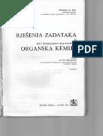 Pine, Organska kemija, rješenja zadataka