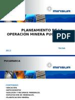 PLANIFICACION MINERA PUCAMARCA