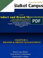 p&b Management Slide for 1st Week