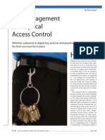 Key Management For Physical Access Control