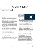 Tree Level of Causes Fmea Dan Rca