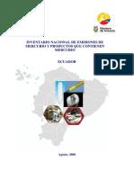 Ecuador Hg Inventory Final Report Spanish Aug 2008