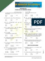 Aritmética Pre Números Primos