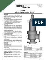 SV80H Válvula de Segurança e Alívio-Technical Information