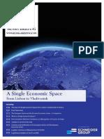 A Single Economic Space-From Lisbon to Vladivostok