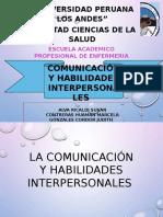 Expo La Comunicación y Habilidades Interpersonales