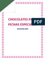 Chocolates Para Fechas Especiales