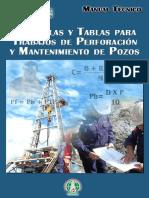 Manual Tecnico de Formulas