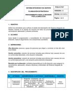 PCE-01-P-07 Procedimiento Para La Revision Por La Direccion